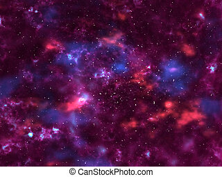 Deep Space - Outer space rendering.