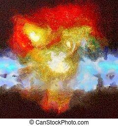 Deep Space Painting