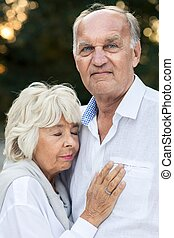 deeply, anziano, amore, coppia