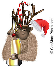 Deer after Christmas