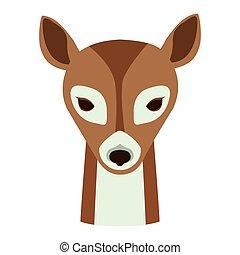 deer animal cartoon