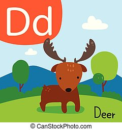 deer drawing line vector design