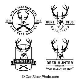Deer hunter badge