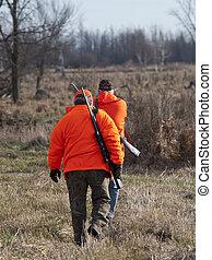 Deer Hunters - A pair of Deer hunters