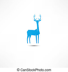 Deer Icon