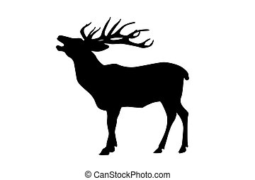 elk illustrations and clipart 5 462 elk royalty free illustrations rh canstockphoto com bull elk clipart elk clipart black and white
