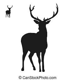 Deer logo icon