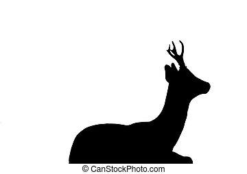 Deer outline