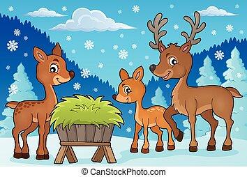 Deer theme image 1