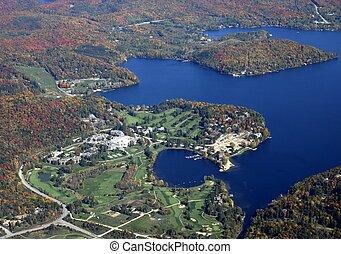 Deerhurst golf course, aerial