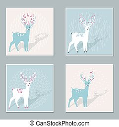 deers, ensemble