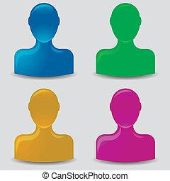 default, avatar, profilo