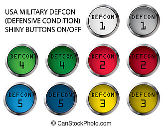 DEFCON buttons