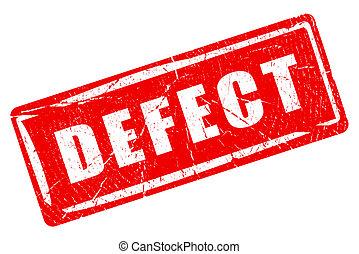 Defect rubber grunge stamp