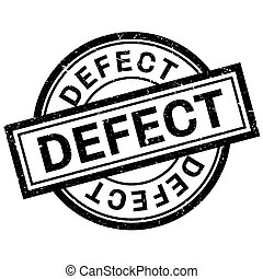 Defect rubber stamp. Grunge design with dust scratches. ...