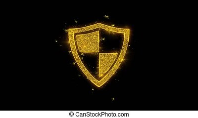 Defence, guard, protect, safety, shield Icon Sparks...