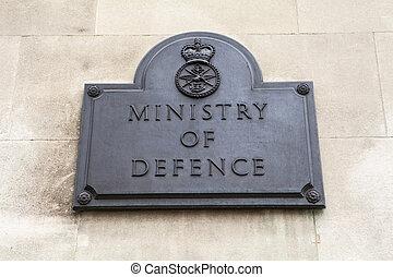defensa, londres, ministerio