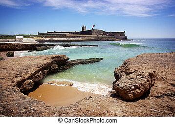 Defense Fort - Coastal defense fortification in Carcavelos ...