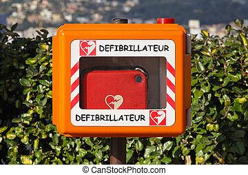 Defibrillator - Automated external defibrillator for...