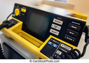 Defibrillator - Manual external defibrillators are used in...