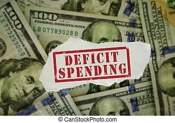 Deficit Spending money