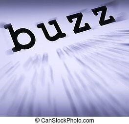 definição, atenção, popularidade, ou, monitores, zumbido, ...