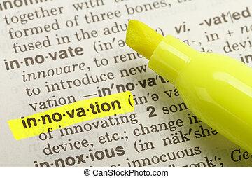 definición, innovación