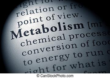 definición, metabolism