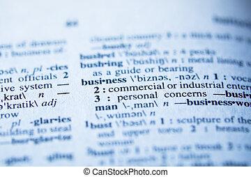 definicja, od, handlowy, w, słownik, -, selekcyjne ognisko