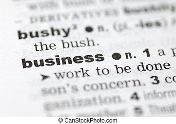 definicja, od, handlowy