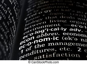 definido, económico, negro