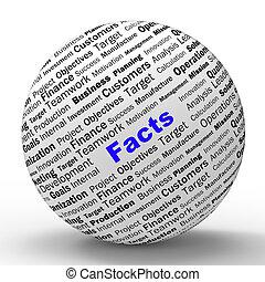definitie, middelen, wijsheid, bol, waarheid, feiten