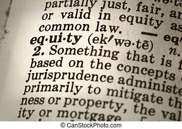 definition, i, egenkapital