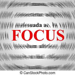 definition, mittel, erklärung, fokus, sinn, konzentration