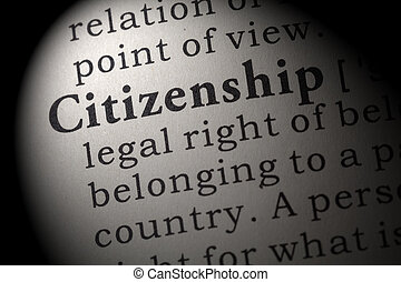 definition of citizenship