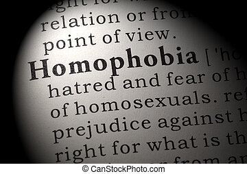 definition of homophobia
