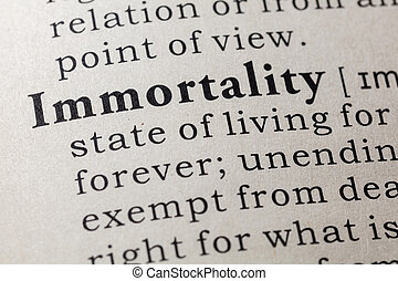 definition of immortality
