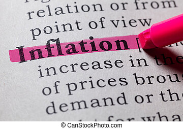 definition of inflation - Fake Dictionary, Dictionary ...