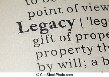 definition of legacy - Fake Dictionary, Dictionary...