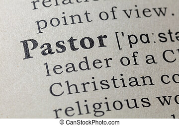 definition of pastor - Fake Dictionary, Dictionary...