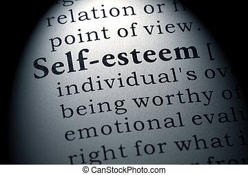 definition of self-esteem
