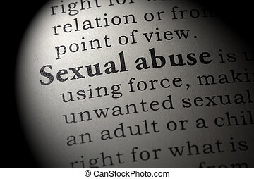 definition of Sexual abuse - Fake Dictionary, Dictionary...
