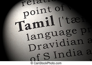 definition of Tamil - Fake Dictionary, Dictionary definition...