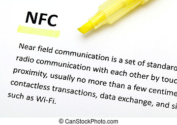 Definition of the word NFC
