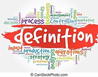 DEFINITION word cloud