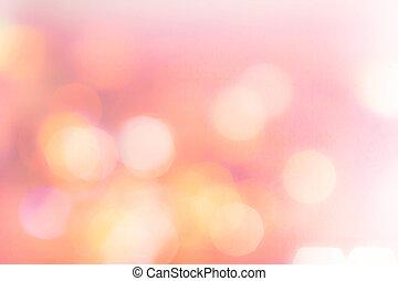 defocus, abstratos, twinkled, luminoso, bokeh, fundo, natal
