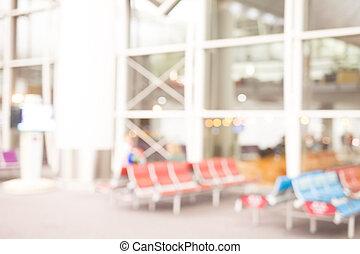 defocus bokeh of airport great for your design