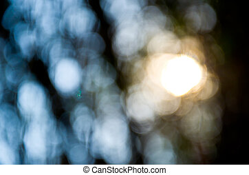 Defocus of light