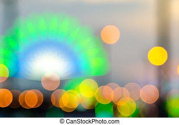 defocus of light texture background