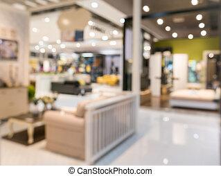 defocus, winkel, achtergrond, meubel